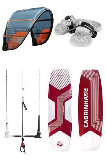 Cabrinha - Switchblade + Spectrum 2020 Kitesurf Set