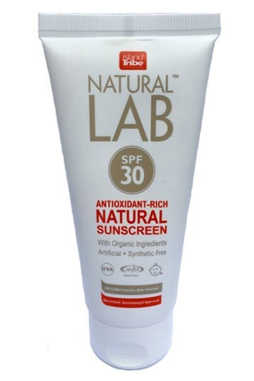 Island Tribe - SPF 30 Natural Lab 100ml Sonnencreme